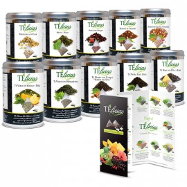 "Pack Tea Collection ""Telicias"" Piramides 10 Variedades"
