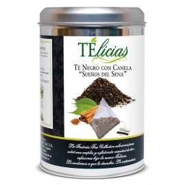 """Telicias"" Black tea with cinnamon - 25 Pyramid tea bags"