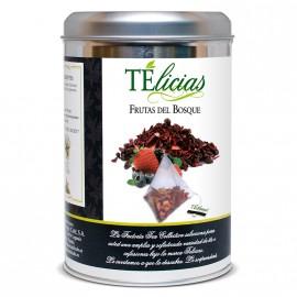 """""""Telicias"""" Piramides 25 ud. """"Frutas del Bosque"""""""