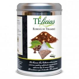 """""""Telicias"""" 30 unit """"Tiramisu"""" Pyramid Rooibos tea"""
