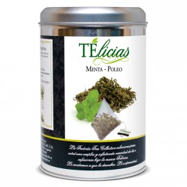 """Telicias"" Peppermint - 25 Pyramid tea bags"
