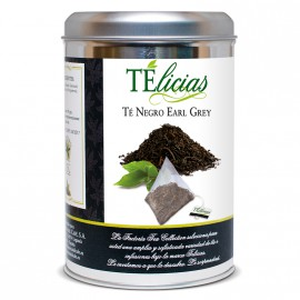 """Telicias"" Gunpowder Green Tea - 25 Pyramid tea bags"