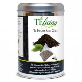 """Telicias"" Gunpowder Green Tea - 25 Pyramid tea bags"