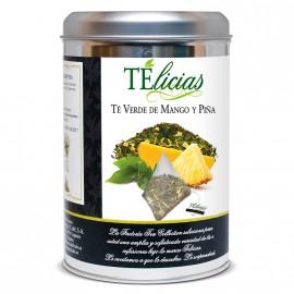 """Telicias"" Piramides 25 ud. ""Mango y Piña"""
