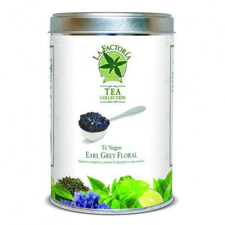 """Tea Collection 125 grs Negro """"Earl Grey Floral"""""""