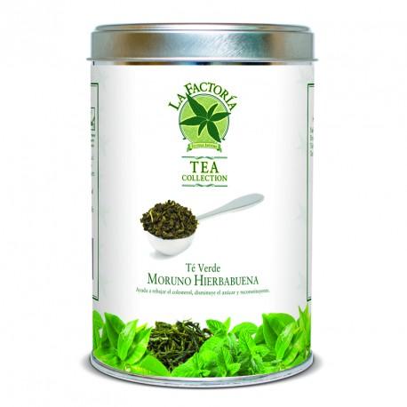 """Tea Collection 150 grs Verde Moruno con """"Hierbabuena"""""""