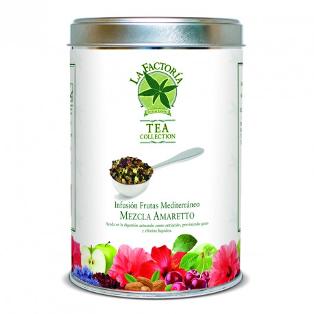 "Tea Collection 150 grs ""Frutas Mediterraneas"" Mezcla Amaretto"