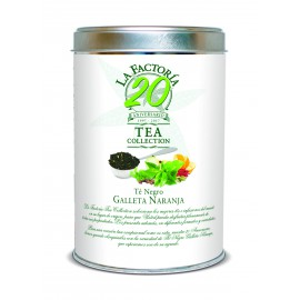 Tea Collection 150 grs 20 Aniversario Te Negro Galleta Naranja