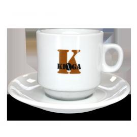 Juego de Seis Tazas Kioga Café con Leche