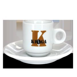 Juego de Seis Tazas Kioga Café Solo