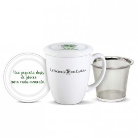 Jarra Mug Tea Collection Factoria 290 cc con filtro