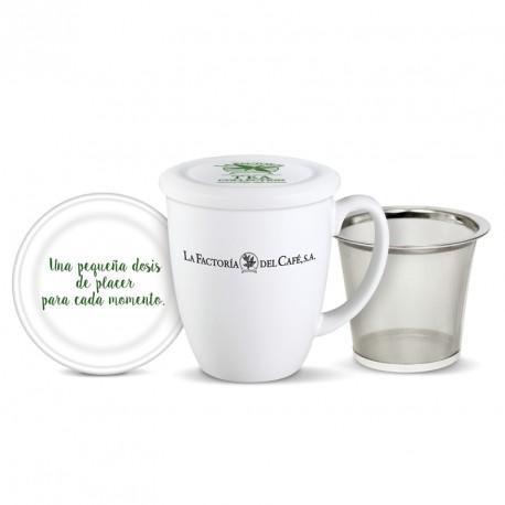Jarra Mug Tea Collection Factoria 290 cc con filtro