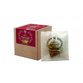 Navidad Infusión BIO ORGANICA Tea Collection Jengibre/Limon 15 ud invidual