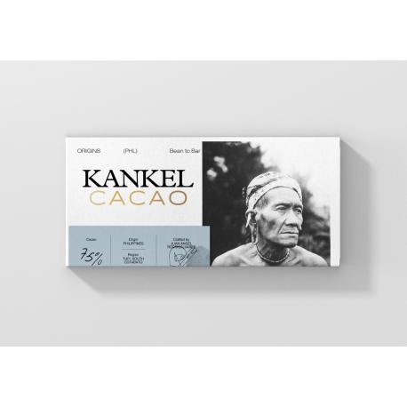 Chocolate Kankel 75% Cacao de Origen Filipinas