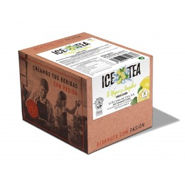 IIce Tea Negro y JENJIBRE sabor Limón 15 ud 5,5 grs SIN AZUCAR